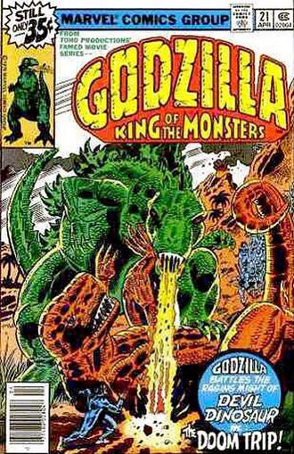 Cover of issue #21 by Herb Trimpe