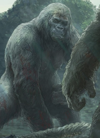 Kong's mother in Skull Island: The Birth of Kong