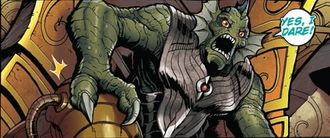 The Devonian King in Godzilla: Rulers of Earth