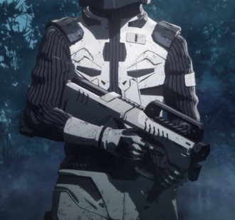 An Infantry-Employed Electromagnetic Induction Rifle in GODZILLA: Planet of the Monsters